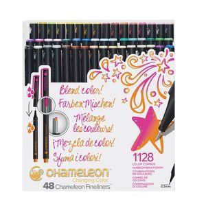 Kit-com-48unid-Fineliners-artisticas-0-3mm-brilliant-colors-FL4801-178984