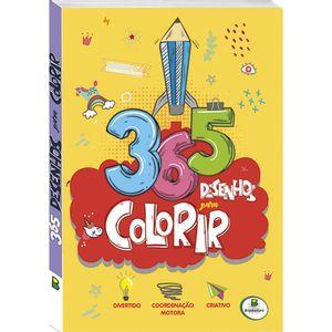 Livro-De-365-Desenhos-Para-Colorir--Capa-Amarela-Todo-Livro-Ref1156551-179425_1