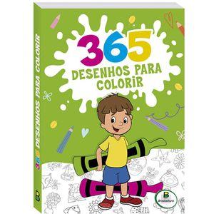 Livro-De-365-Desenhos-Para-Colorir-Capa-Verde-Musgo-Todo-Livro-Ref-1152238-179429_1