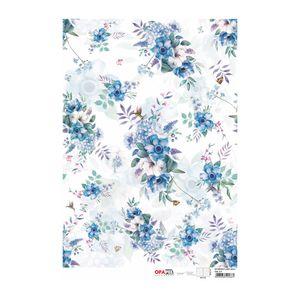 OPAPEL3078-flor-azul-1-30x45cm