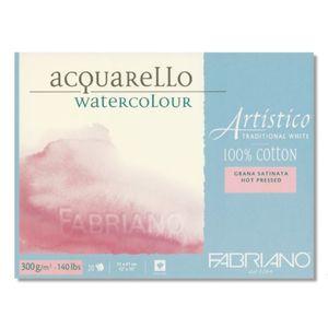 Bloco-Aquarello-Watercolour-Grana-Satinata-Fabriano-Traditional-White-31x41cm-300g-20-Folhas–19100562
