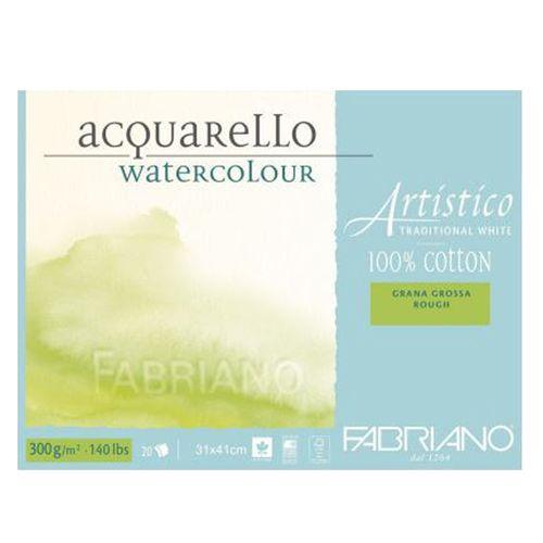 Bloco-Aquarello-Watercolour-Grana-Grossa-Fabriano-Traditional-White-31x41cm-300g-20-Folhas–19100567