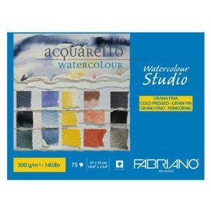 Bloco-de-Papel-Para-Aquarela-Studio-Fabriano-Grano-Fino-300g-27x35cm-com-75-Folhas-75302735-179337