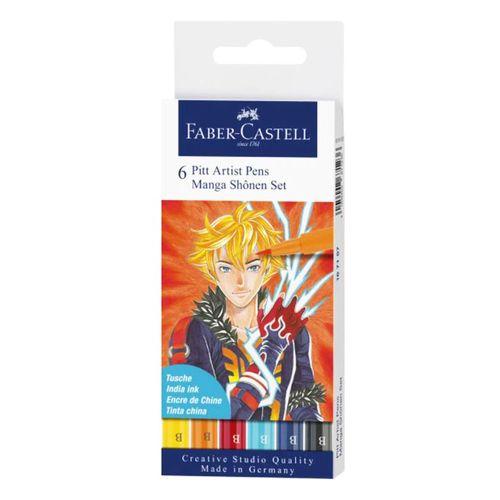 Estojo-de-Canetas-Pitt-Artist-Faber-Castell-Manga-Shonen-Set-Pincel-6-Unidades–167157_179804