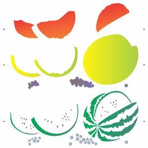 Stencil-de-Acetato-para-Pintura-OPA-30-5-x-30-5-cm-2873-Frutas-Melancia