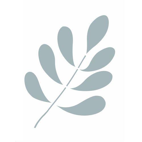 Stencil-3125--32x42-organismo-folhas-Gotas