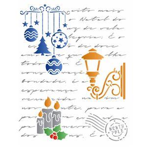 stencil-3153-20x25-Simples-Carta-Natalina-II