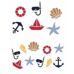 stencil-3154-20x25-Simples-Infantil-Estamparia-Nautico-II