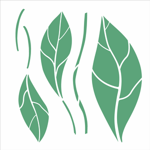 3124---305x305-Simples-Organico-Folhas-I