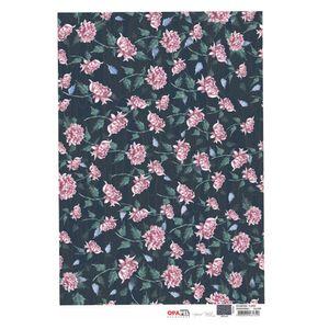 Papel-para-Decoupage-Opapel-30x45cm-Estamparia-Flores-Crisantemos-I–OPA3190