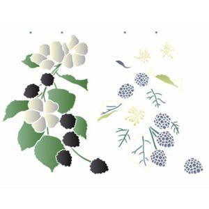 Stencil-de-Acetato-para-Pintura-OPA-32×42-Simples–Flores-e-Amoras–OPA3184